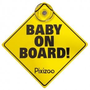 Pixizoo Baby on board pixizoo m sugekop
