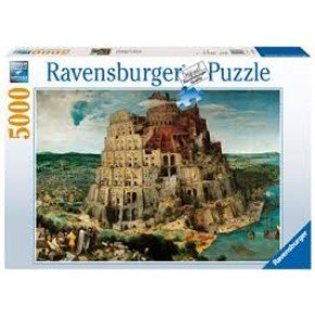Ravensburger -  The Tower of Bel (5000 pcs) Puslespil