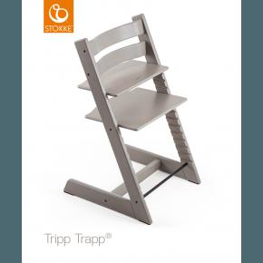Tripp Trapp stol oak - Greywash Højstol