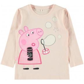 Name it trøje med Gurli Gris - Rosa