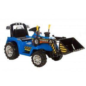 Ride ons Azeno power traktor - Blå