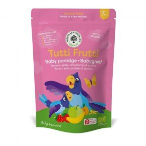 Woodland Wonders - Tutti Frutti, 180 G. Øko Babymad