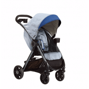 Graco Fast Action DLX Travel System - Dove Grey