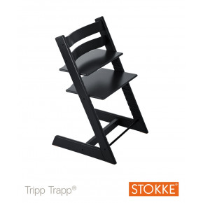 Tripp Trapp Stol - sort