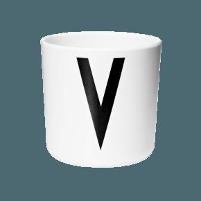 Design Letters AJ melamin cup - V