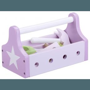 Kids Concept lege-værktøjskasse - Rosa