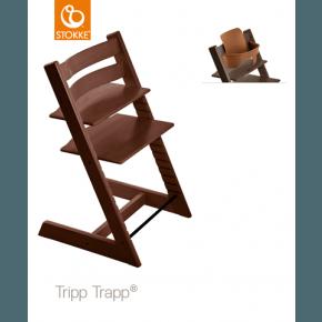 Tripp Trapp Højstol + Babysæt - Valnød