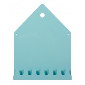 Roommate - Villa Magnettavle & Knagerække - Blue
