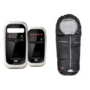 Neonate BC4600D Babyalarm + Voksi Active Black