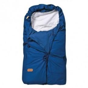 Voksi Classic+ sove- og kørepose - blue dot