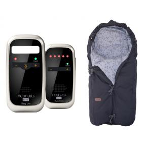 Neonate BC4600D Babyalarm + Voksi Classic+ Mini - Leaf Grey