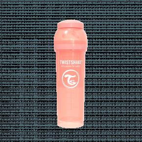 Twistshake Anti-kolik sutteflaske 330ml - Pastel Fersken