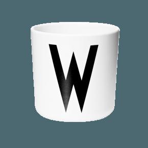 Design Letters Aj melamin cup - W