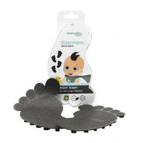 Everyday Baby - Skridsikre Bademåtter, 4 stk - Grå