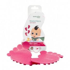 Everyday Baby - Skridsikre Bademåtter, 4 stk - Pink