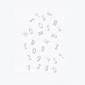 DESIGNLETTERS Letter box Small - Hvid