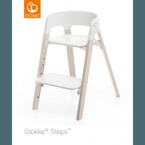 Stokke Steps Højstol - Whitewash