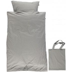 Småfolk - Baby sengetøj micro æbler - Wilde Dove