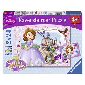 Ravensburger - Sofias Royal Adventures (2 x 24 pcs)