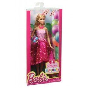 Barbie dukke i gaveæske - fødselsdagsbarbie