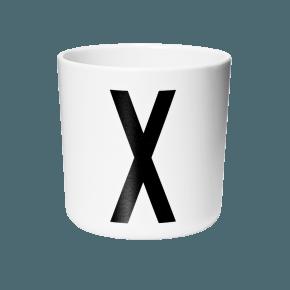 Design Letters AJ melamin cup - X