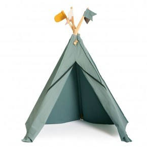 Roommate Hippie Tipi legetelt - Sea Grey