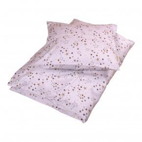 Filibabba babysengetøj stars 70x100 cm - light lavender