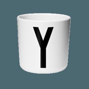 Design Letters AJ melamin cup - Y