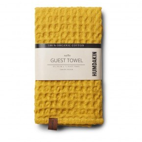 HUMDAKIN Waffle Towel - Yellow Fall