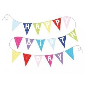 JaBaDaBaDo Flagline - Happy Birthday