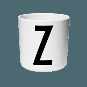 Design Letters AJ melamin cup - Z