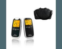 Neonate BC5800D babyalarm + Heybasic XL pusletaske - sort