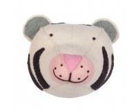 KidsDepot Zoo Dyrehoved - Hvid Tiger
