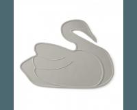 By Lille Vilde - Dækkeserviet, grå svane