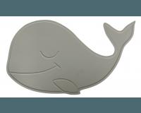 By Lille Vilde - Dækkeserviet, grå hval