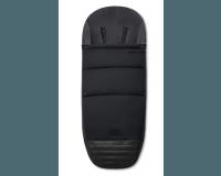 Priam Footmuff - Premium Black Tilbehør til klapvogn