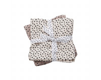 Done by Deer - Happy Dots Stofble 2-pack - Powder