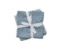 Done By Deer - Happy Dots Stofble 2-pack - Blue