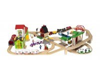 BRIO World Deluxe Togbane inkl. by
