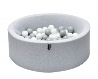 Tiny Republic boldbassin 90x30 - lysegrå