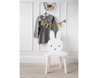 Kids of Scandinavia Miffy My Chair stol - hvid