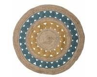 Bloomingville Marlin gulvtæppe - Multi