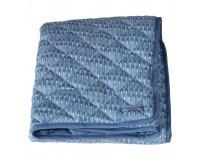 Manostiles Quiltet tæppe - Oyster blue