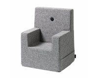 By KlipKlap Kids Chair XL - Grå m Grå Knap