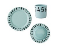 Design Letters Servicesæt - Mint