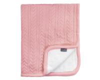 Vinter & Bloom Cuddly tæppe - Dusty Rose