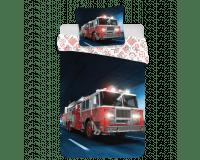 Brandbil Sengetøj 140x200 cm