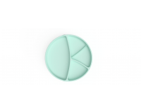 Everyday Baby silikone tallerken 1 stk - mintgrøn
