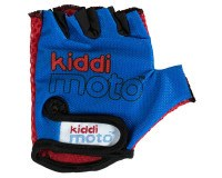 Kiddimoto Blue handsker, str. medium