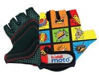 Kiddimoto Comic handsker, str. small